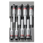Facom Κασετίνα με 8 Κατσαβίδια Micro-Tech - AEF.J3